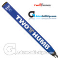 2 Thumb Snug Daddy 27 Putter Grip - Blue / White / Silver