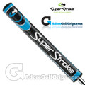 SuperStroke Slim 3.0 Legacy Series Putter Grip - Midnight Black / Blue / Silver