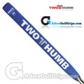 2 Thumb Snug Daddy 30 Midsize Putter Grip - Blue / White / Silver