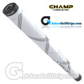 Champ C1 Small Midsize Putter Grip - Cool White / Black