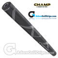 Champ C1 Small Midsize Putter Grip - Jet Black / White