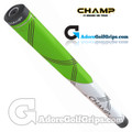 Champ C1 Small Midsize Putter Grip - Neon Green / White