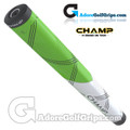 Champ C1 Medium Jumbo Putter Grip - Neon Green / White