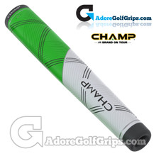 Champ C1 Large Giant Putter Grip - Neon Green / White