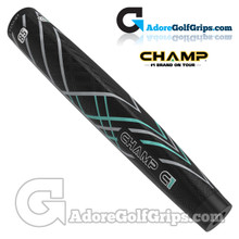Champ C1 Large Giant Putter Grip - Black / Grey / Mint