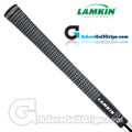 Lamkin Crossline Midsize Grips - Black / White