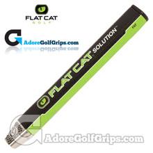 Flat Cat Golf Solution Fat 12 Inch Jumbo Putter Grip - Black / Green / White