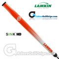 Lamkin Sink HD 15 Inch Midsize Paddle Putter Grip - Orange / White