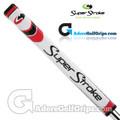 SuperStroke Pistol GTR 1.0 Legacy Series Putter Grip - White / Red / Silver