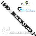 SuperStroke Pistol GTR Tour Legacy Series Putter Grip - Midnight Black / White / Silver