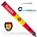 TourMARK Spain Jumbo Pistol Putter Grip - Red / Yellow