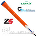 Lamkin Z5 Multicompound Cord Grips - Orange / White / Blue