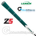 Lamkin Z5 Multicompound Cord Grips - Dark Green / White / Grey