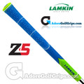 Lamkin Z5 Multicompound Cord Grips - Neon Blue / Green