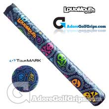TourMARK RD3 Loudmouth Jolly Roger Jumbo Putter Grip - Navy Blue / Grey
