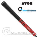 Avon Pro D2x Jumbo Grips - Black / Red