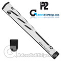 P2 Aware TOUR Midsize Putter Grip - White / Black