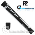 P2 Aware TOUR Midsize Putter Grip - Black / White