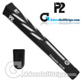 P2 Classic TOUR Jumbo Putter Grip - Black / White