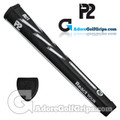 P2 React TOUR Jumbo Putter Grip - Black / White