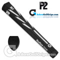 P2 Reflex TOUR Giant Putter Grip - Black / White