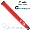G-Rip FL-1 Jumbo V-Shape Light Putter Grip - Red