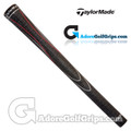TaylorMade Universal Replacement Grips - Black / Red / Silver