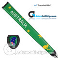 TourMARK Australia Jumbo Pistol Putter Grip - Green / Yellow