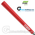 Pure Grips Pro Midsize Grips - Red