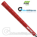 Pure Grips DTX Midsize Grips - Red
