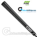 Pure Grips P2 Wrap Midsize Grips - Black