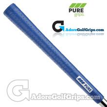 Pure Grips P2 Wrap Midsize Grips - Blue