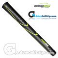 "JumboMax Tour Series Jumbo (JUNIOR +1/8"") Grips - Black / Lime Green"