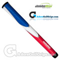 "JumboMax Tour Series Jumbo (JUNIOR +1/8"") Grips - Red / White / Blue"
