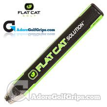 Flat Cat Golf Solution Big Boy 12 Inch Giant Putter Grip - Black / Green / White