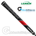 Lamkin TS1 Standard PLUS Grips - Black / Red / White