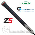 Lamkin Z5 Multicompound Cord Standard PLUS Grips - Black / Grey