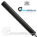 The Grip Master Signature 2.0 / FL27 Cabretta Leather Sewn Midsize Featherlite Putter Grip - Black