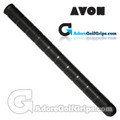 Avon Unified Arthritic Serrated Non-Tapered Midsize Grips - Black
