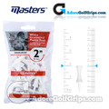 Masters Golf Graduated Plastic Tees - 2 Inch (51mm) - White (25 Pack)