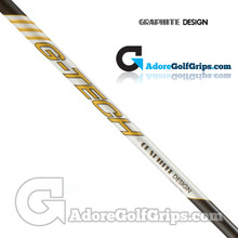 "Graphite Design G-Tech Wood Combination Shaft - Senior / Lady Flex - 0.335"" Tip - Silver / Gold / Black"