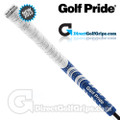 Golf Pride New Decade Multi Compound Whiteout Grips - White / Blue