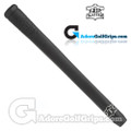 The Grip Master Montana Cow Leather Stitchback Pistol Putter Grip - Black