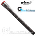 Winn Dri-Tac Soft Feel Grips - Dark Grey / Red