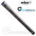 Winn Dri-Tac Midsize Soft Feel Grips - Dark Grey / Blue