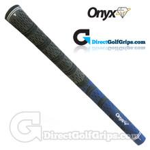 Onyx Fusion Cord Grips - Blue / Black