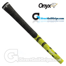 Onyx Fusion Cord Grips - Lime Green / Black