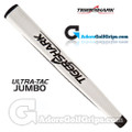 Tiger Shark Ultra-Tac Jumbo Putter Grip Putter Grip - White / Black