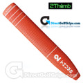 2 Thumb Light Putter Grip - Red