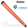 Feeltec Seamless PU Pistol Putter Grip - Orange